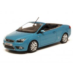 MINICHAMPS 400084030 FORD FOCUS COUPE-CABRIOLET BLEU METAL