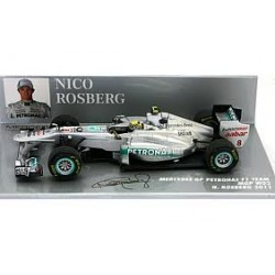 MINICHAMPS 410110008 MERCEDES GP PETRONAS F1 TEAM MGP W02