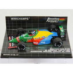 MINICHAMPS 400890219 BENETTON B188 1ER TEST HAKKINEN 24/01/90