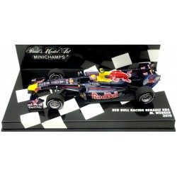 MINICHAMPS 410100006 RED BULL RENAULT RB6 2010 No6 WEBBER
