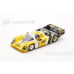 """""""SPARK 18LM85 PORSCHE 956 N°7 Vainqueur 24 Heures Le Mans 1985 K.Ludwig- """"""""J.Winter""""""""- P.Barilla"""""""