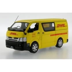 J-COLLECTION JC085 TOYOTA HIACE DHL 2007 JAUNE 1.43